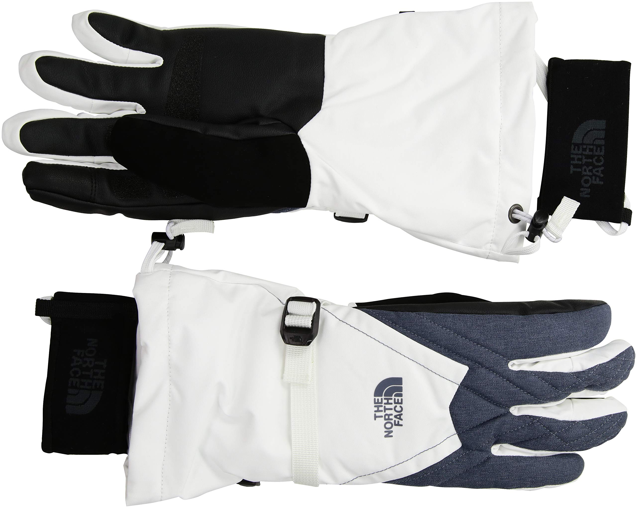 The North Face Women's Montana Gore-Tex¿ Gloves Tnf White/Grisalle Grey Heather SM by The North Face