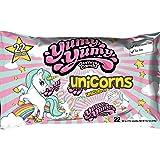 Yumy Yumy Unicorns Gummy 3 x 22 ct Party Pack, Halal, Gift Bag