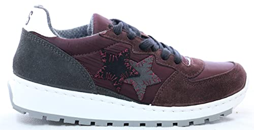 more photos fb838 bb494 2Star 2sd2153 Sneakers Donna di Colore Bordeaux: Amazon.it ...