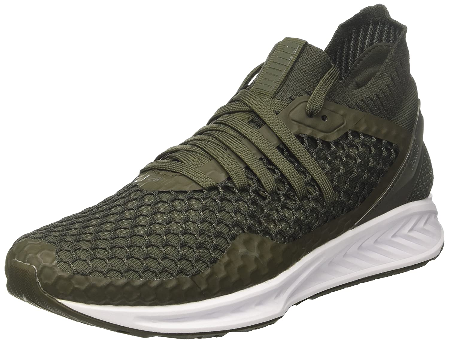 Puma Ignite Netfit, Chaussures Multisport Outdoor Homme Homme Outdoor 47 EU|Marron (Forest Night-castor Gray) a6ccec