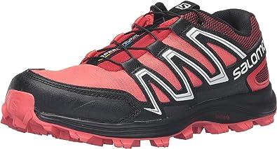 Salomon L39063600, Zapatillas de Trail Running para Mujer, Naranja (Coral Punch / Black / Infrared), 45 1/3 EU: Amazon.es: Zapatos y complementos