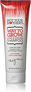 product image for Not Your Mothers Shampoo Way To Grow (Long+Strong) 8 Ounce (235ml)