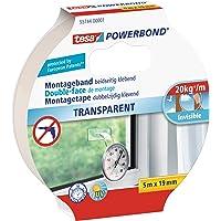 Tesa 55744-00001-02 Powerbond TRANSPARENT, 5m x 19mm, transparant