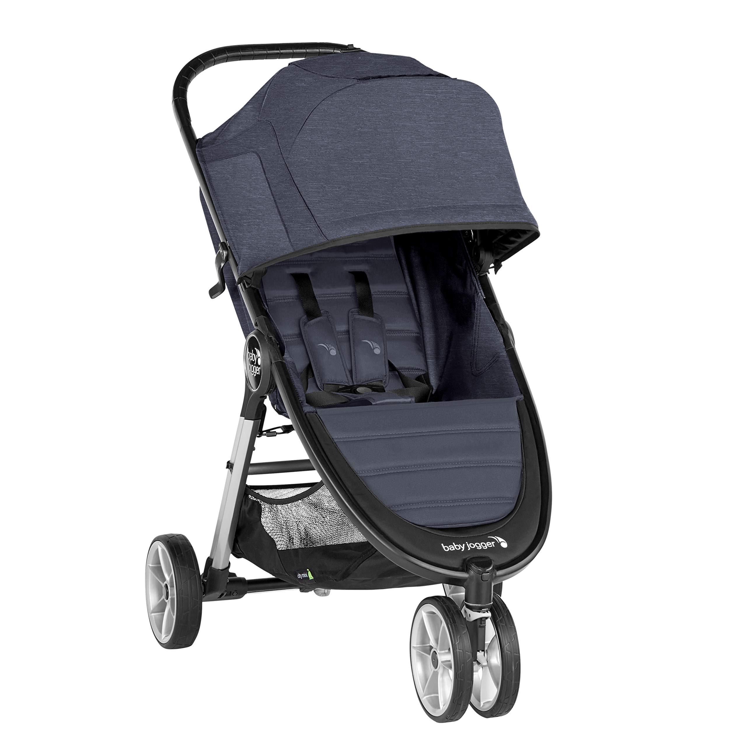Baby Jogger City Mini 2 Stroller - 2019 | Compact, Lightweight Stroller | Quick Fold Baby Stroller, Carbon
