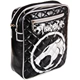 Cool Retro Thundercats Flight Bag - Black With Silver Logo - Gift for Him