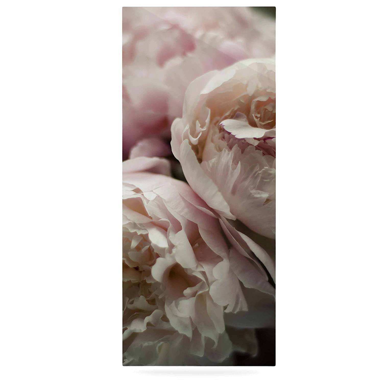 24 x 36 Kess InHouse Cristina Mitchell Peonies Pink White Luxe Rectangle Panel