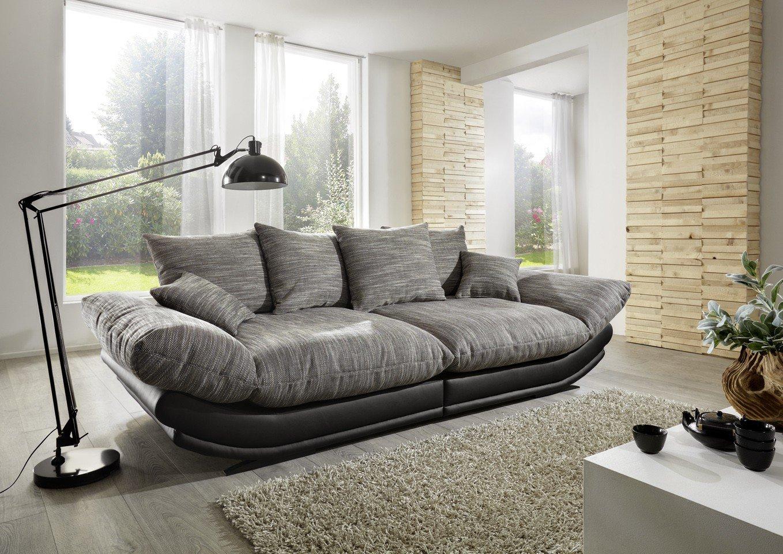 Megasofa Loungesofa Ultrasofa Sofa Couch Bigsofa ROSE C NewLook Trendmanufaktur