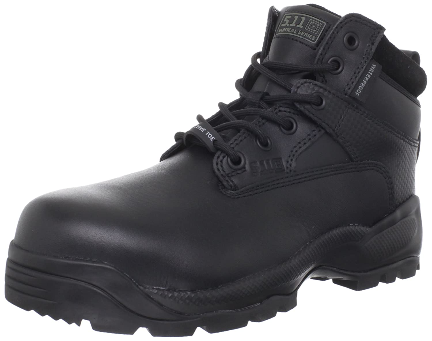 "5.11 Men's A.T.A.C. Shield 6"" Side-Zip Tactical Boot with Safety Toe"