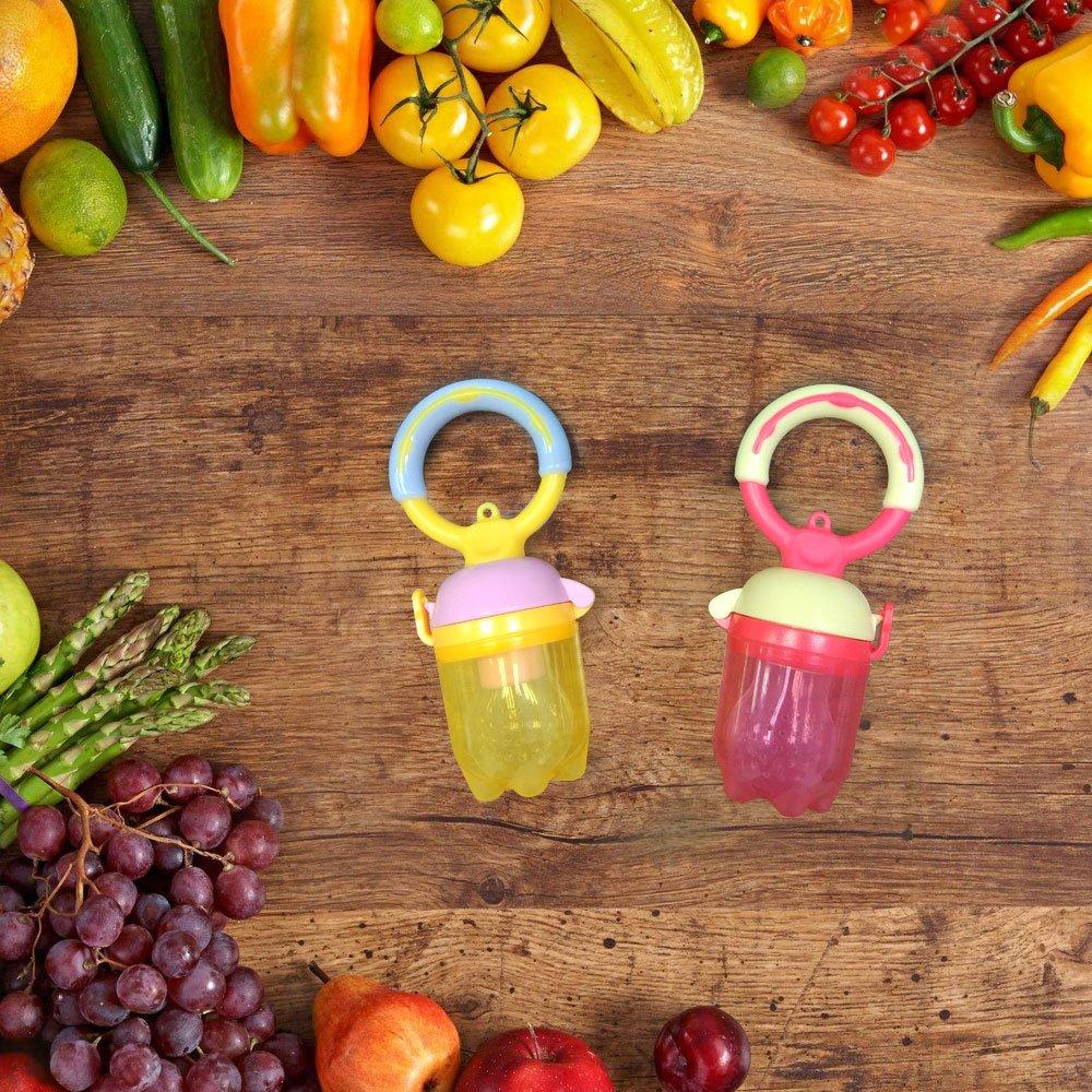 Amazon.com: SILIVO - Alimentador de alimentos para bebés (2 ...