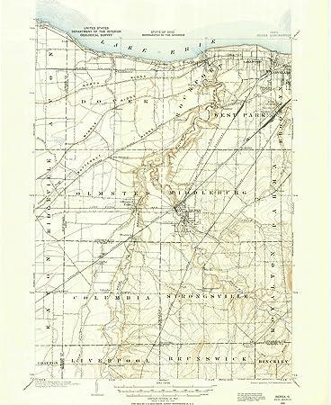 Amazon Com Ohio Maps 1902 Berea Oh Usgs Historical Topographic
