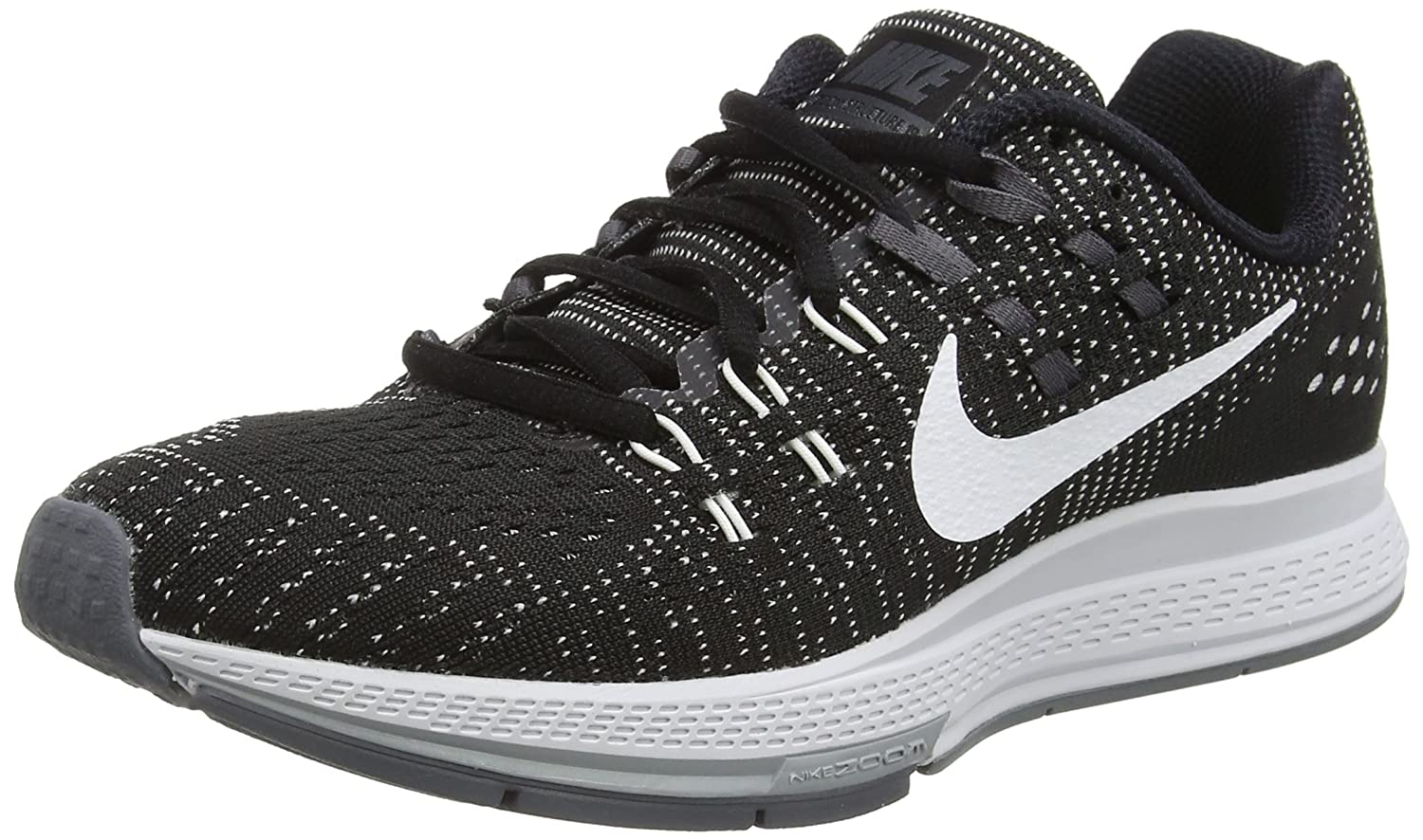 low priced 63d87 40245 Amazon.com   NIKE Women s WMNS Air Zoom Structure 19, Black White-Dark Grey-Cool  Grey, 12 M US   Athletic