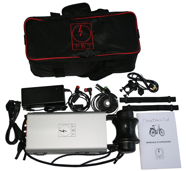 Flying Bike's Tail - moteur électrique portable pour le vélo - Kit Pedalec conversion E-bike pour tous les vélos. Un adjoint pour tous les vélos. Ne nécessite aucune installation. BikesTail.com B00O34OBJA