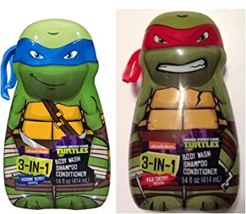 Amazon.com: Teenage Mutant Ninja Turtles 3 in 1 Body Wash ...