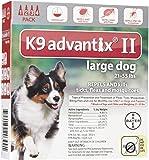 K9 Advantix II Large Dog 4-Pack