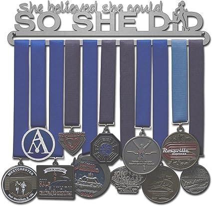 Extra Médaille Hanging Bar pour Race Médaille Display Holder Hanger Running 5K 10K
