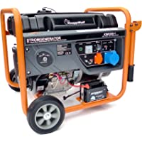 KnappWulf Stromerzeuger KW8300-1 Generator Notstromaggregat 1-Phasig 230V