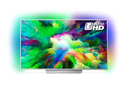 81d0f5d77b0 Philips 55PUS7803 12 55-Inch 4K Ultra HD Android Smart TV with HDR Plus
