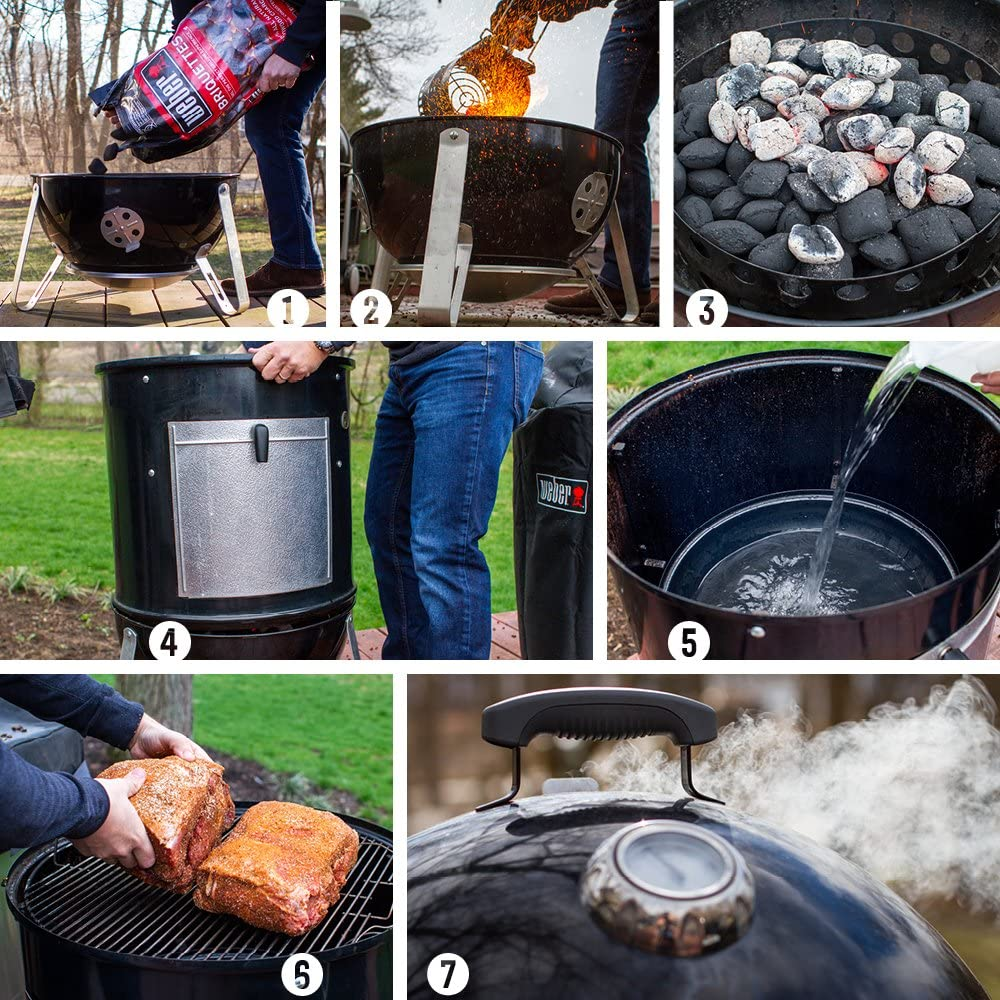 How To Set Up Weber 711001 Smokey Mountain Cooker
