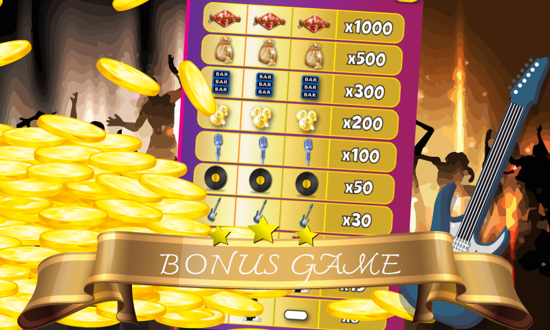rock n roll casino slots