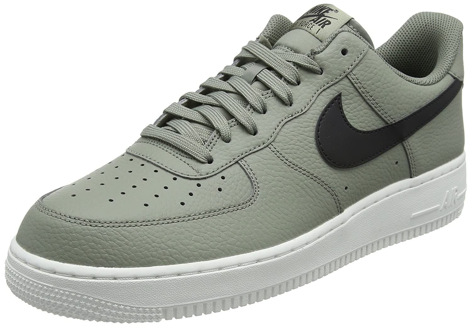 quite nice 2f456 32f5f Nike Mens Air Force 1 Low Dark StuccoBlackSummit White Leather Casual Shoes  14 D(M) US Amazon.ca Shoes  Handbags