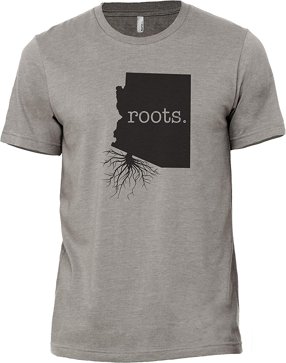 Home Roots State Arizona AZ Men's Modern Fit T-Shirt Printed Graphic Tee