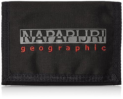 fdc43db9a6 Napapijri - Portafoglio per adulti, colore Nero (BLACK 041), 27x16x1 cm (B  x H x T): MainApps: Amazon.it: Valigeria