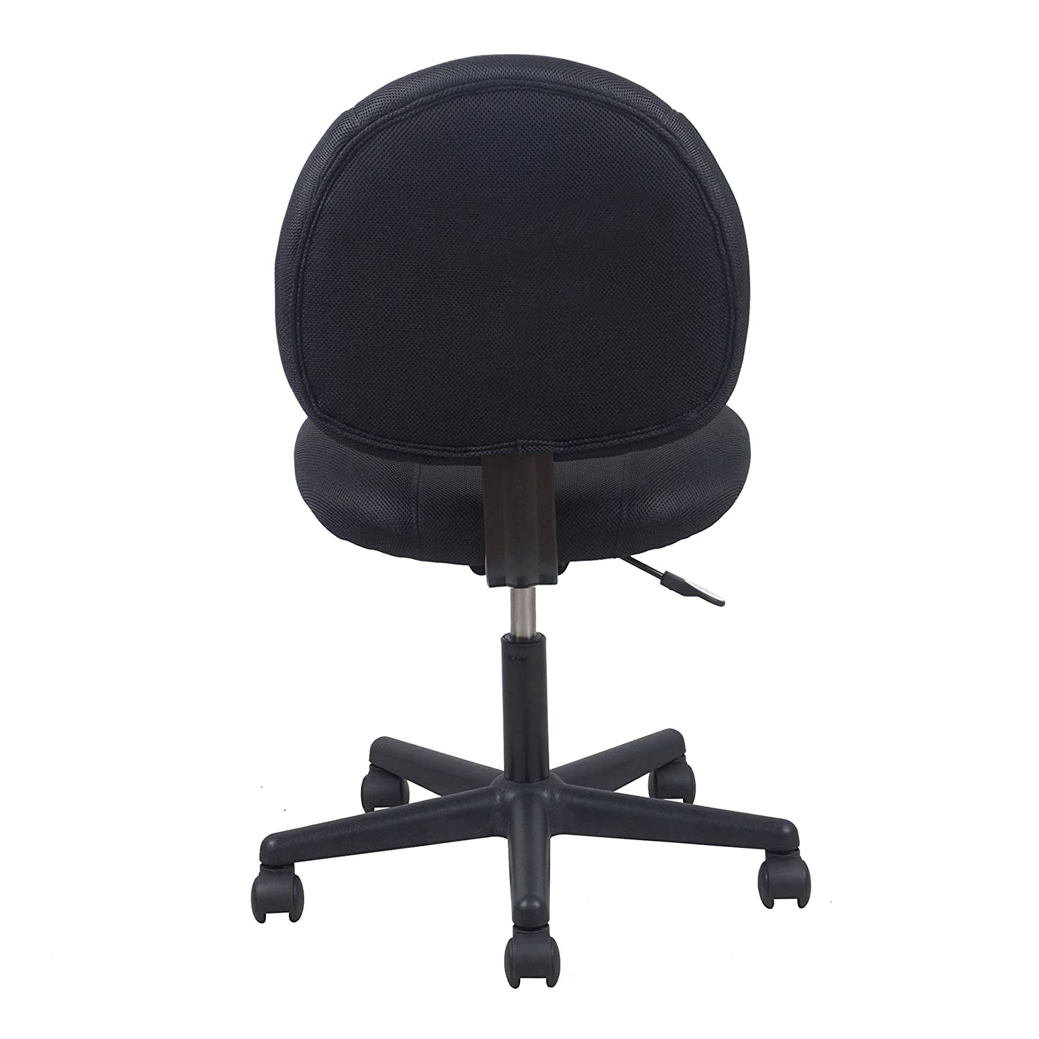 Amazon Essentials Swivel Upholstered Armless Task Chair