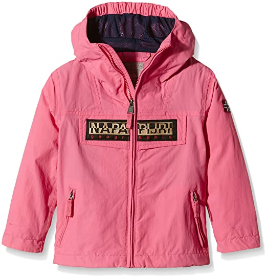 Napapijri K Rainforest Open SUM Blouson, Rose (Camelia P55