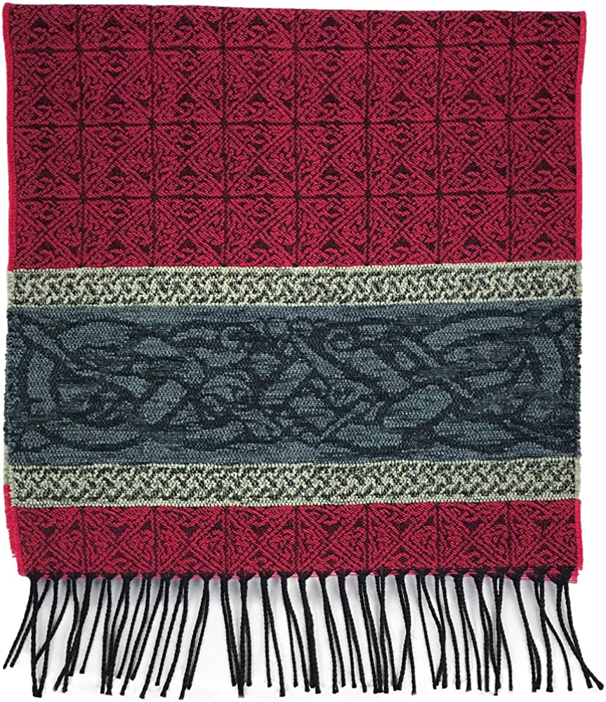 Detailed Woven Celtic Scarf...