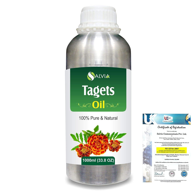 Tagetes (Tagetes Minuta) 100% Pure Natural Essential Oil 1000ml/33.8fl.oz. B07R99BHML