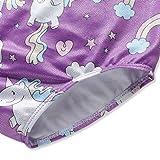 Girls Leotards for Gymnastics Unicorn Purple Size