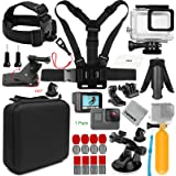 Gurmoir 16-in-1 Action Camera Accessories Kit for Gopro Hero 7 Black/Hero 6/Hero 5/HERO (2018) Action Cameras Only (AT05)