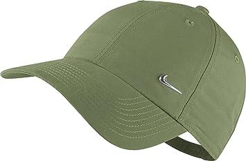 cd1bef1a6 Nike Heritage 86-Metal Tennis Cap for Man, Green (Palm Green ...