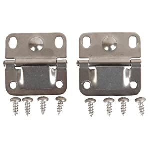 Coleman, Cooler Hinges with Screws, Stainless Steel, Package of 2