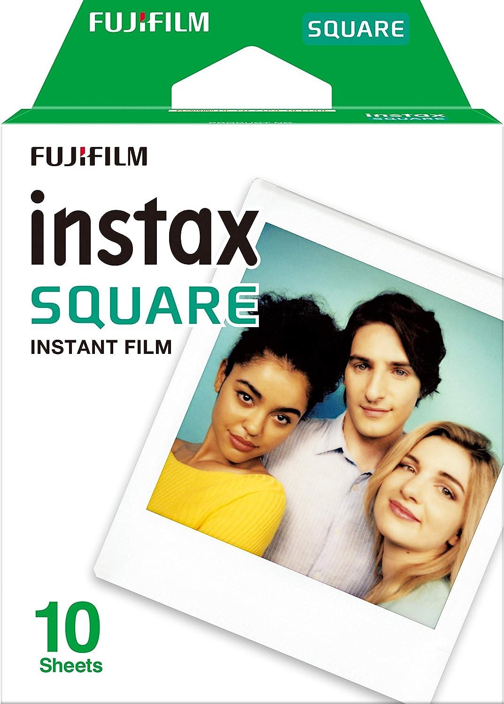 Fujifilm Instax Square - Pack de 10 fotografías, color blanco: Amazon.es: Electrónica