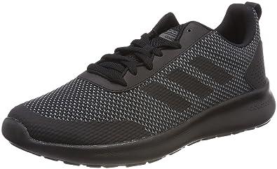 finest selection 0b4a5 dde6a adidas Men s Cloudfoam Element Race Competition Running Shoes, Black  Cblack Grefiv 000, 6.5