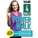 Walk On: 4-Mile Power Walk with Jessica Smith - Indoor Walking and Low Impact Aerobics for Fat Burning, Cardio, Coordination,