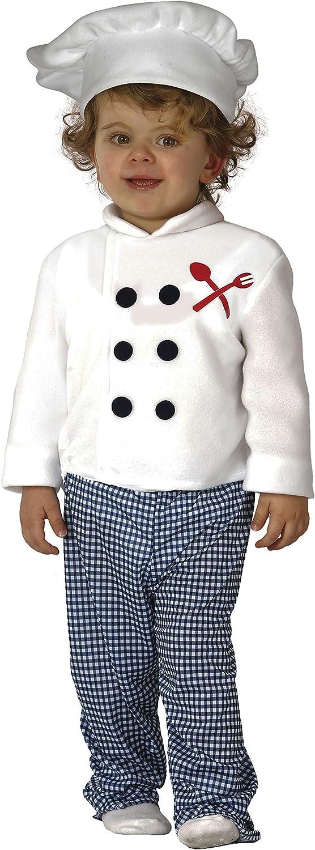 Guirca- Disfraz 12-24 meses Cocinero Baby, u (83307.0)