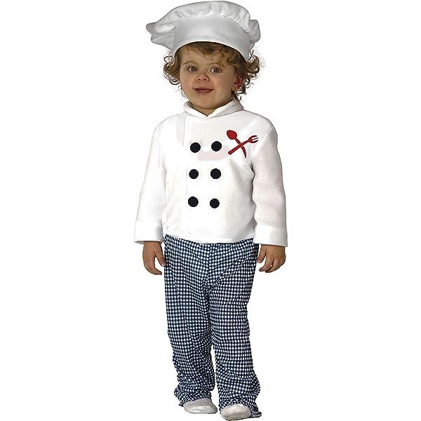 Guirca- Disfraz 12-24 meses Cocinero Baby, u (83307.0): Amazon.es ...