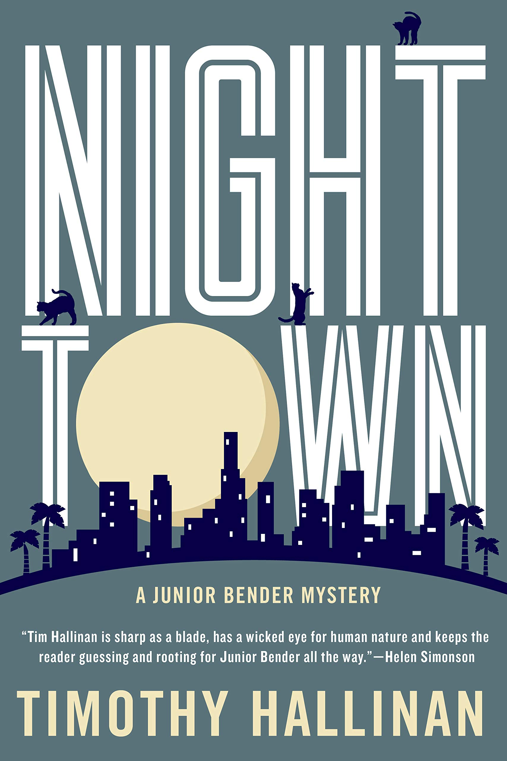 Nighttown A Junior Bender Mystery 9781616957483 Polygo Minie Mouse By Sentinel Timothy Hallinan Books