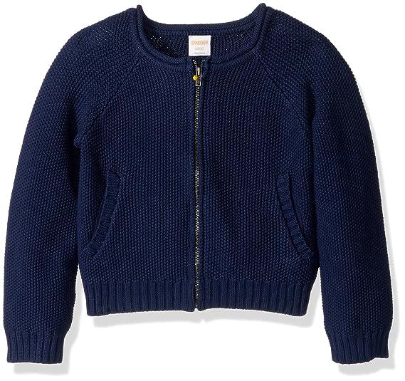 2ba532804 Amazon.com  Gymboree Girls  Big Zip Knit Cardigan Sweater  Clothing