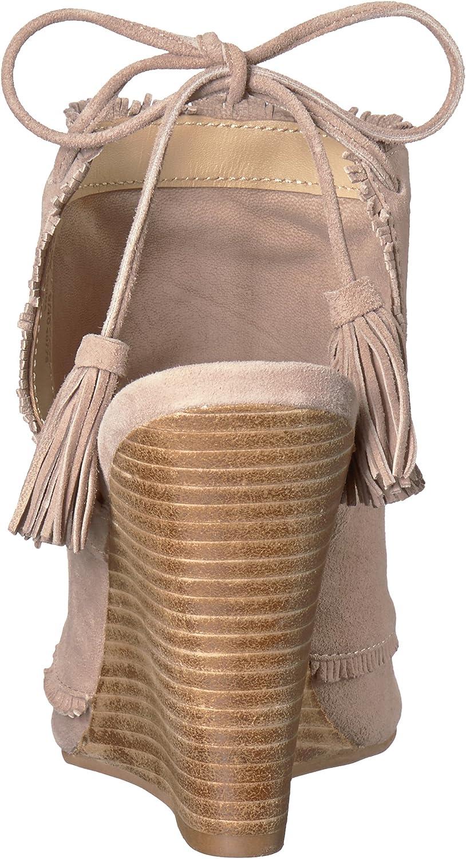 6 M US Chinese Laundry Kristin Cavallari Womens Leilani Wedge Sandal Harbor Grey