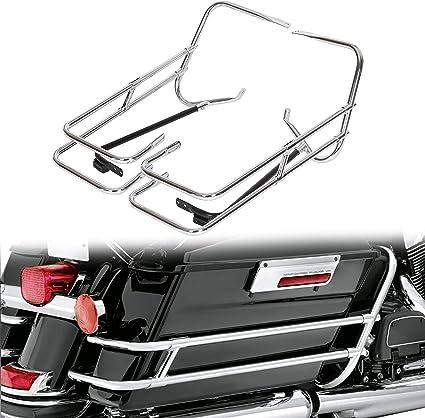 Cromado Protector de bolsa para sillín de bicicleta barra soporte ...