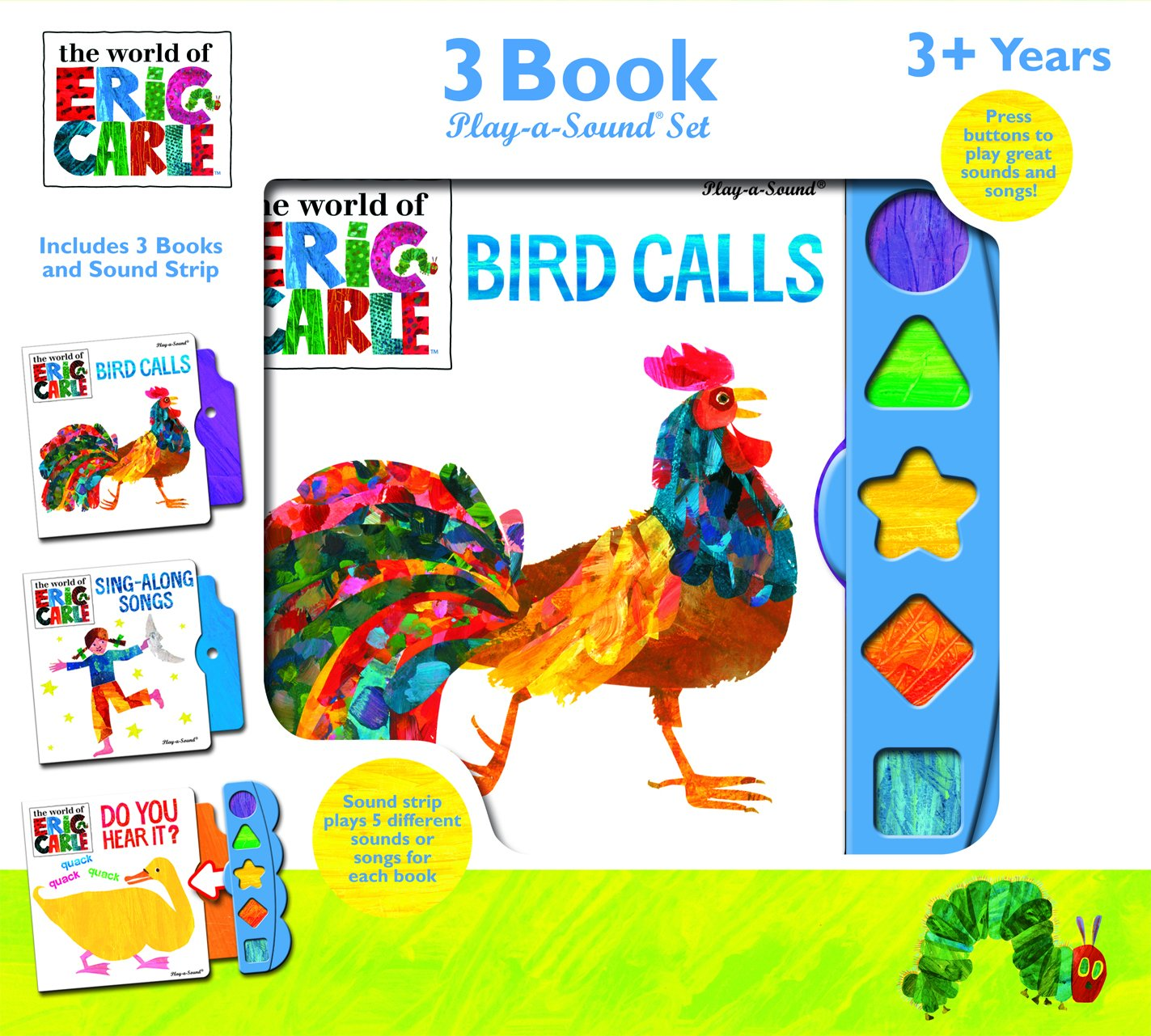 Read Online The World of Eric Carle 3 Book Play-a-Sound Set pdf