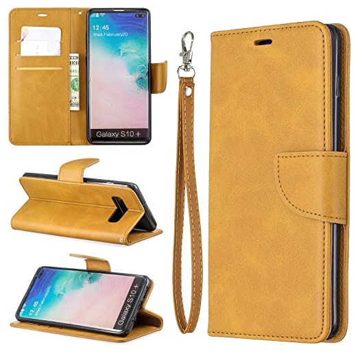 Amazon com: Galaxy S10 Plus Wallet Case,Yoomer Kickstand