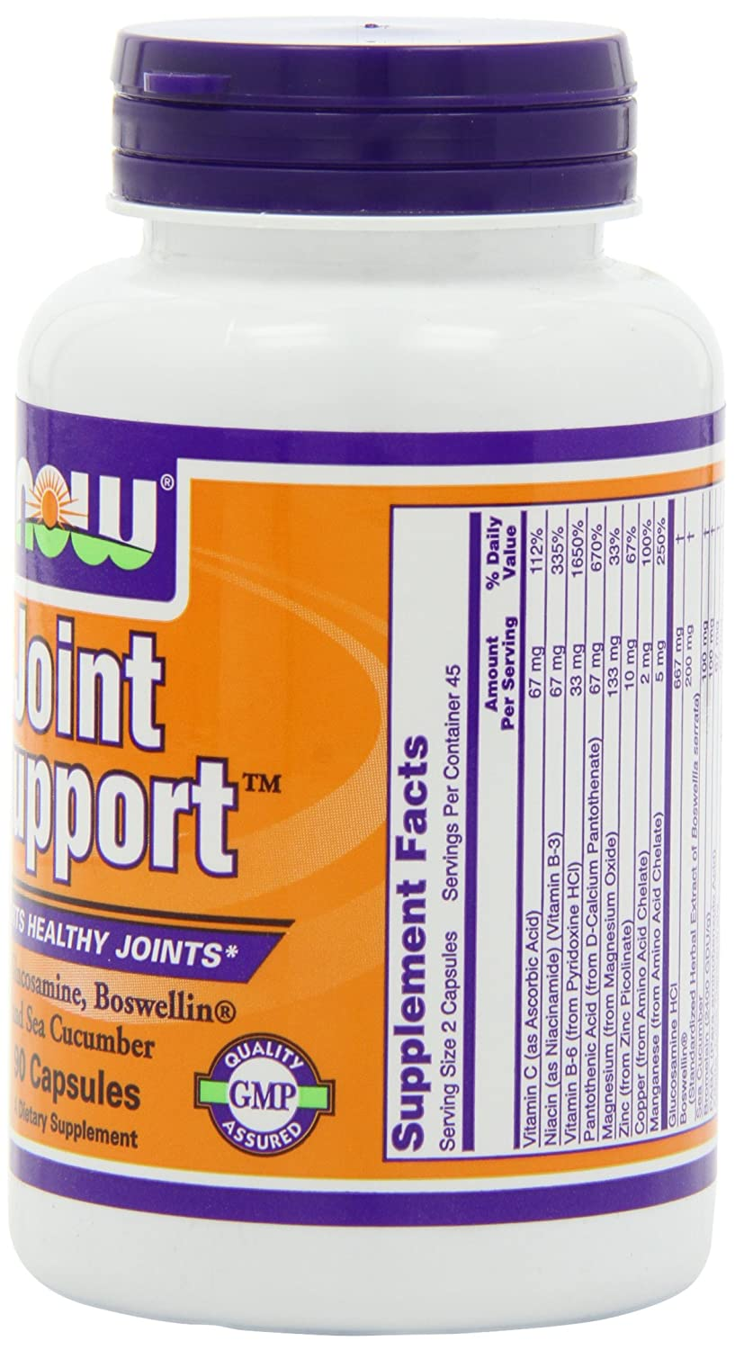 NOW Joint Support 90 Capsules Image 2