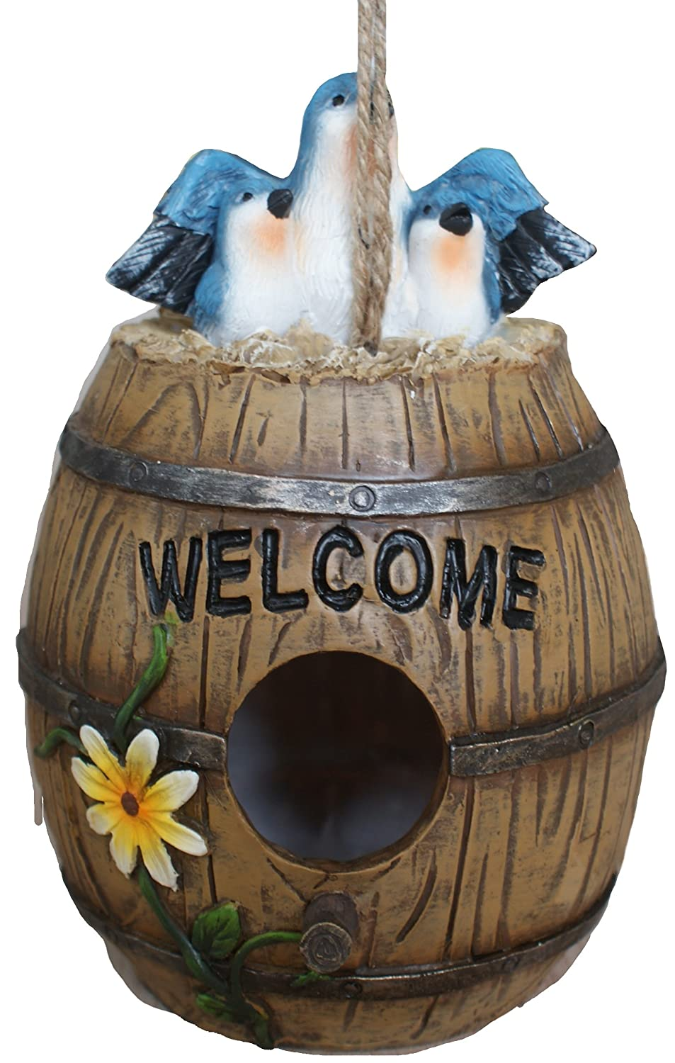 TIAAN Barrel Bird House