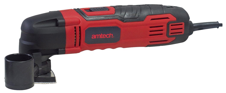 AMTECH 280W Corded Oscillating Multi Tool 6 Speed Blades Pad Power Tool Saw