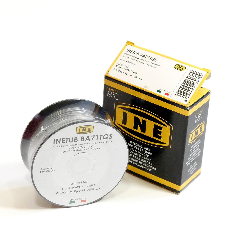 Proweltek-ine PR1037 - Bobina con núcleo sin gas/soldadura mig-mag 0,9 mm 450 g: Amazon.es: Industria, empresas y ciencia