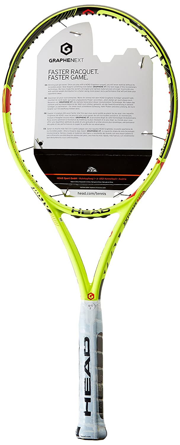 Amazon.com : HEAD Graphene XT Extreme MP A Tennis Racquet (4-1/2) : Sports & Outdoors
